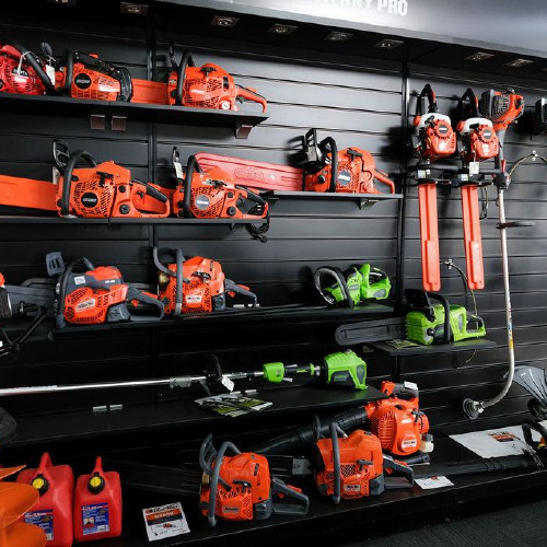 Chainsaw and power tool range at Findlaters Yamaha
