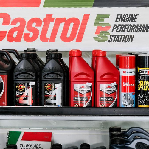 Castrol and oils at Findlaters Yamaha