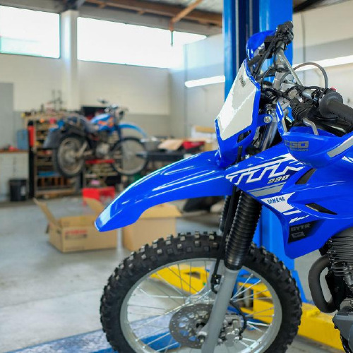 Motorbike workshop in Balclutha Findlaters Yamaha