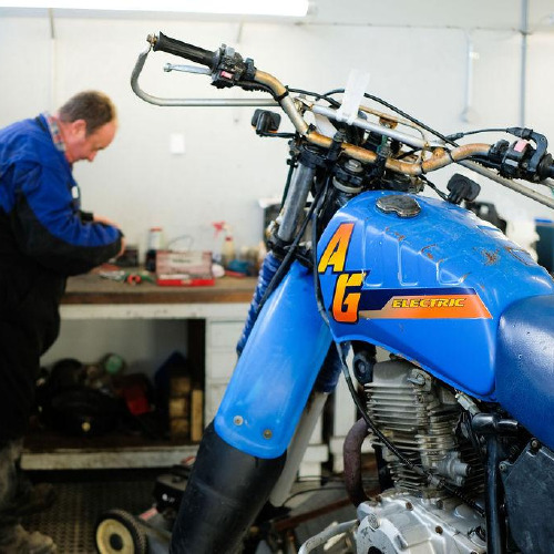 Findlaters Yamaha motorcycle workshop in Balclutha