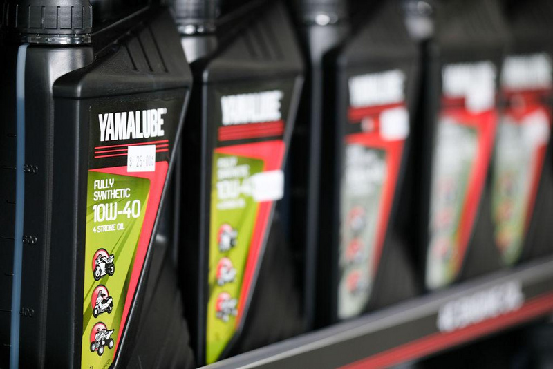 Oil and lubricants at Findlaters Yamaha